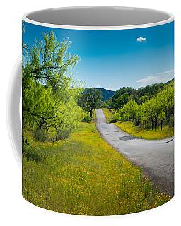 Texas Hill Country Road Coffee Mug