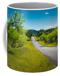 Texas Hill Country Road Coffee Mug