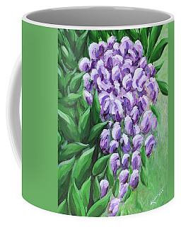 Texas Mountain Laurel Coffee Mug by Kume Bryant