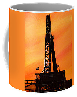 Texas Oil Rig Coffee Mug