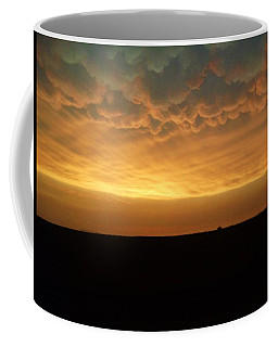Texas Sunset Coffee Mug by Ed Sweeney