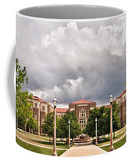 Coffee Mug featuring the photograph School Of Education by Mae Wertz
