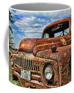 Coffee Mug featuring the photograph Texas Truck by Daniel Sheldon