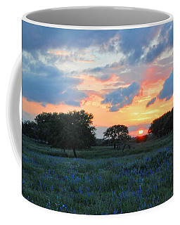 Texas Wildflower Sunset  Coffee Mug