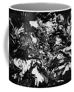 Textured Black And White Series 1 Coffee Mug