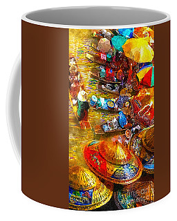 Thai Market Day Coffee Mug by Mo T