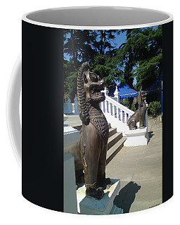 Thai Temple Steps Coffee Mug