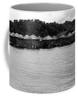 Coffee Mug featuring the photograph Thai Village by Andrea Anderegg