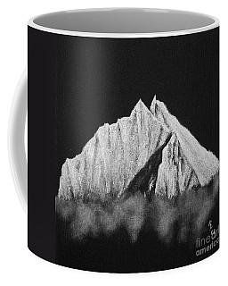 Coffee Mug featuring the painting Thamserku  by Rudi Prott