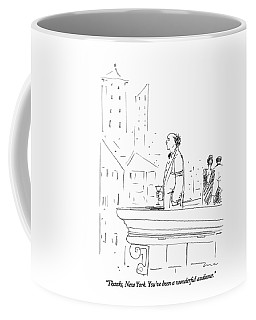 Thanks, New York.  You've Been A Wonderful Coffee Mug
