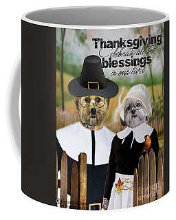 Thanksgiving From The Dogs Coffee Mug