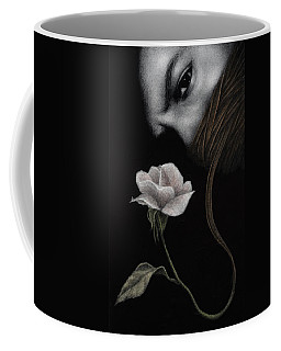Coffee Mug featuring the painting That Which Will Not Be Silenced by Pat Erickson