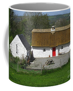 Thatched Cottage Coffee Mug by Suzanne Oesterling