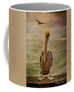 That's Mr. Pelican To You Coffee Mug by Steven Reed