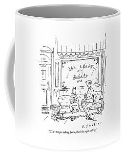 That's Not You Talking Coffee Mug