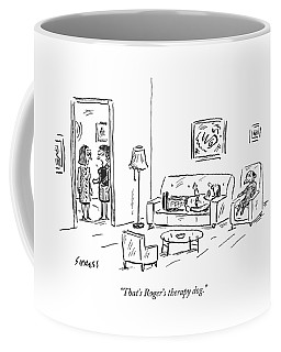 That's Roger's Therapy Dog Coffee Mug
