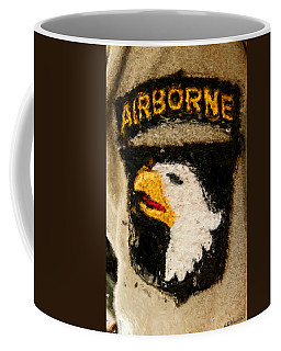 The 101st Airborne Emblem Painting Coffee Mug
