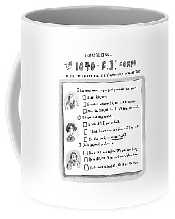 The 1040 F.i. Form Coffee Mug