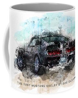 The 1967 Shelby Gt-500 Eleanor Coffee Mug