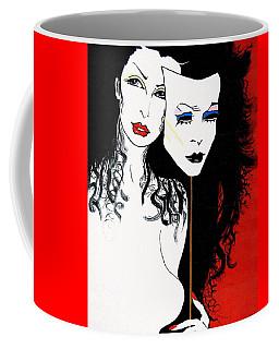 The 2 Face Girl Coffee Mug