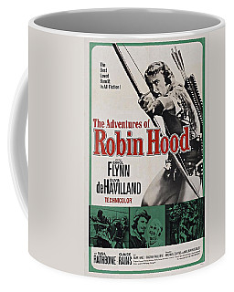 The Adventures Of Robin Hood B Coffee Mug