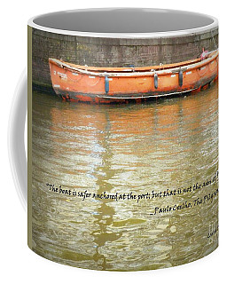 The Aim Of Boats Coffee Mug
