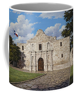 Coffee Mug featuring the painting The Alamo by Kyle Wood