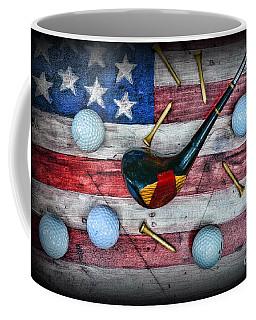The All American Golfer Coffee Mug