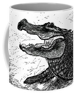 The Alligator Coffee Mug