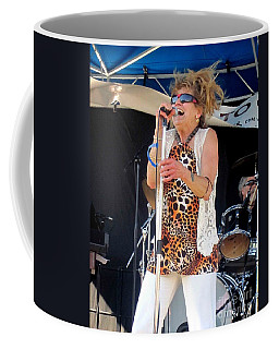 Coffee Mug featuring the photograph The Amazing Lydia Pense by Fiona Kennard