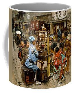 Coffee Mug featuring the painting The Ameya by Robert Frederick Blum