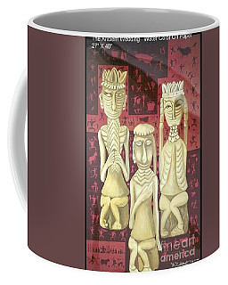 Coffee Mug featuring the painting The Ancient Wedding by Fei A