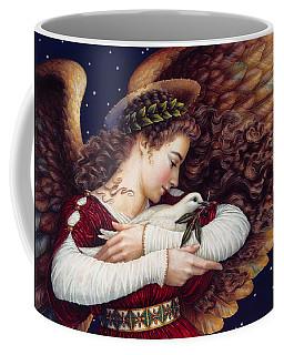 The Angel And The Dove Coffee Mug