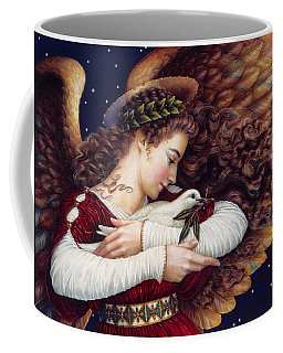 The Angel And The Dove Coffee Mug