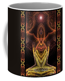 The Angel Of Meditation Coffee Mug