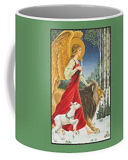 The Angel The Lion And The Lamb Coffee Mug
