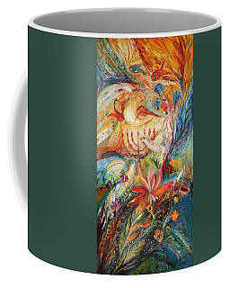 The Angels On Wedding Triptych - Right Side Coffee Mug