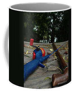Coffee Mug featuring the photograph The Anglers by Peter Piatt