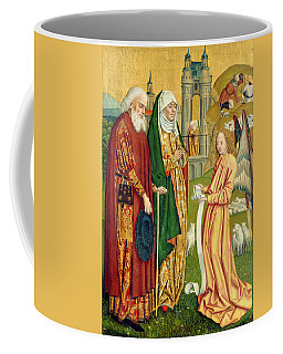The Annunciation To Joachim And Anne, From The Dome Altar, 1499 Coffee Mug