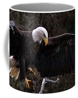 Coffee Mug featuring the photograph The Approach by J L Woody Wooden