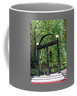 The Arch At Uga Coffee Mug