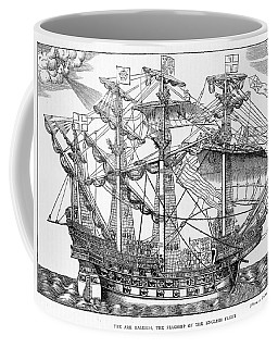 The Ark Raleigh The Flagship Of The English Fleet From Leisure Hour Coffee Mug