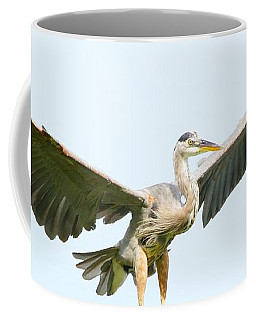The Arrival Coffee Mug by Heather King