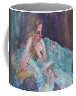 Inner Light - Original Impressionist Painting Coffee Mug