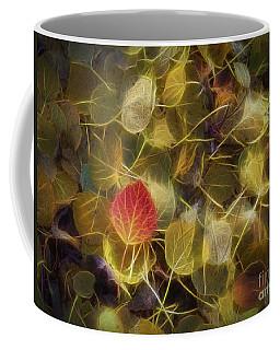 The Aspen Leaves Coffee Mug