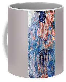 The Avenue In The Rain Coffee Mug