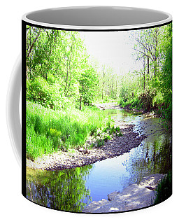 The Babbling Stream Coffee Mug