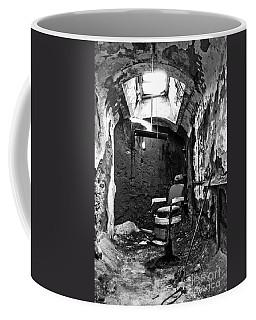 The Barber Chair - Bw Coffee Mug