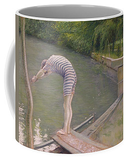 The Bather Or The Diver Coffee Mug