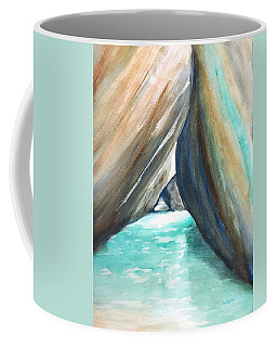 The Baths Turquoise Coffee Mug